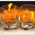 verrines carottes